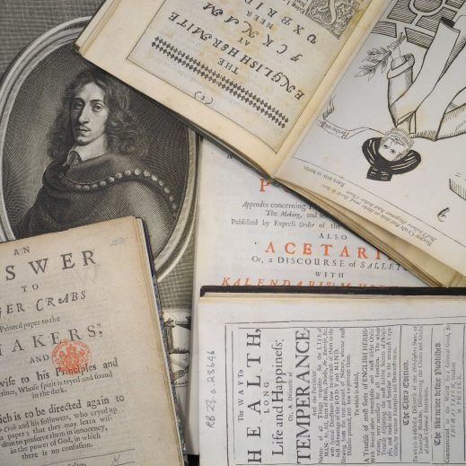 "Various eighteenth century books including an illustrated title page of ""The English Hermit"" and a discourse on ""Sallets"" (Salads)"